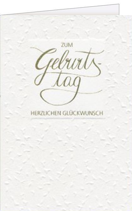 Handgeschriebene Karten Und Briefe Geburtstagskarte Klassisch